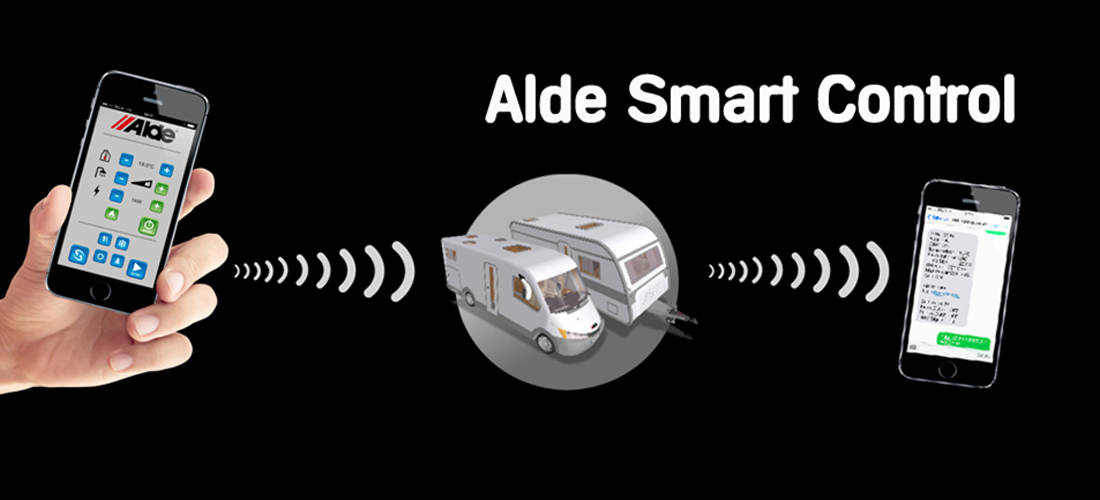 Alde Smart Control App - Kabe Club Nederland